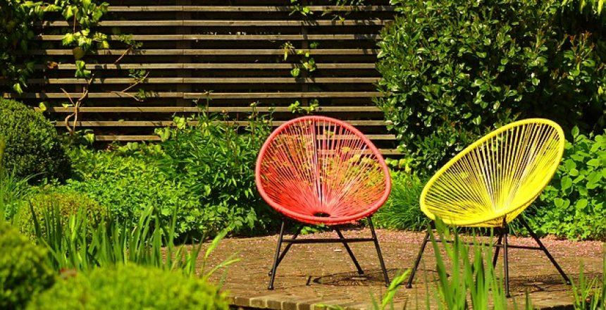 רהיטי גן בעיצוב מודרני